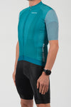 Momentum S/S Jersey Teal - Lusso Cycle Wear