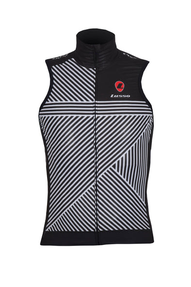 Stripes Gillet - Lusso Cycle Wear