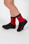 Windtex Thermal Terrain Red Overboots - Lusso Cycle Wear
