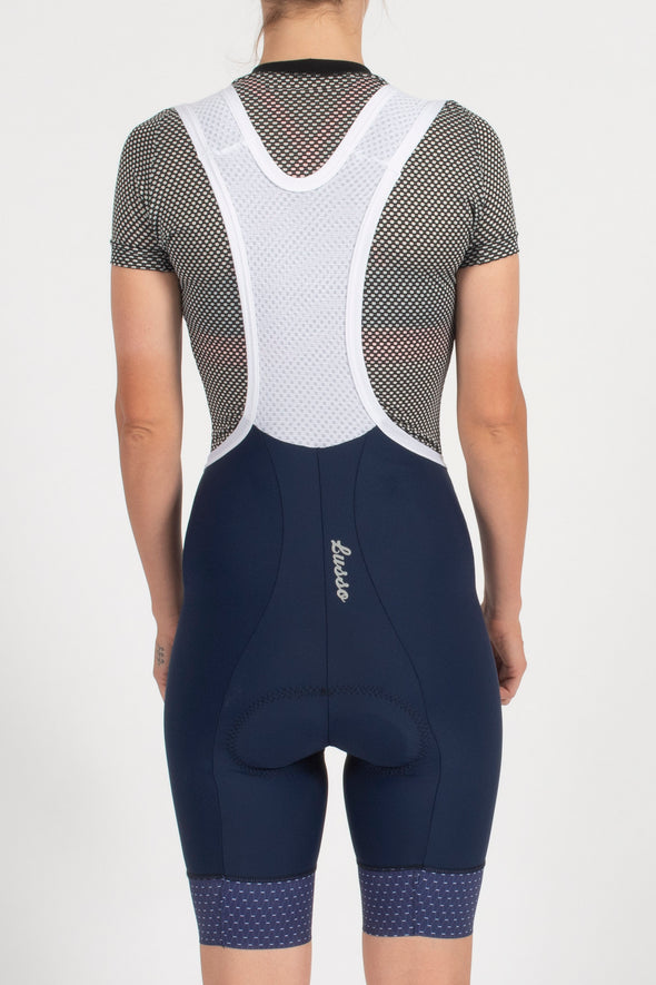 Energy Navy Bibshorts - Womens - Lusso Cycle Wear