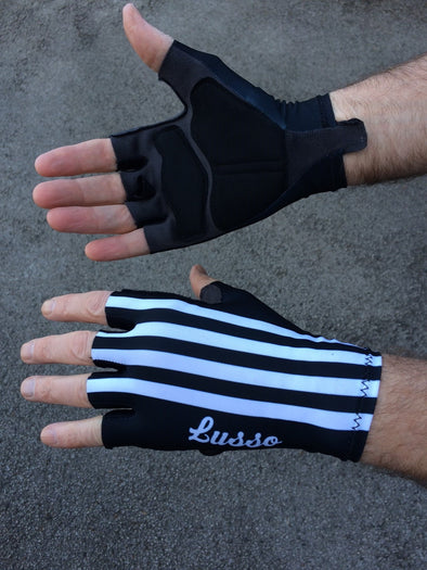 Classic Black Gloves - Lusso Cycle Wear