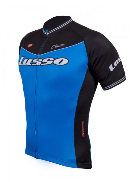Classico S/S Jersey Blue - Lusso Cycle Wear