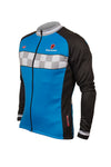 Evolve L/S Jersey Blue - Lusso Cycle Wear
