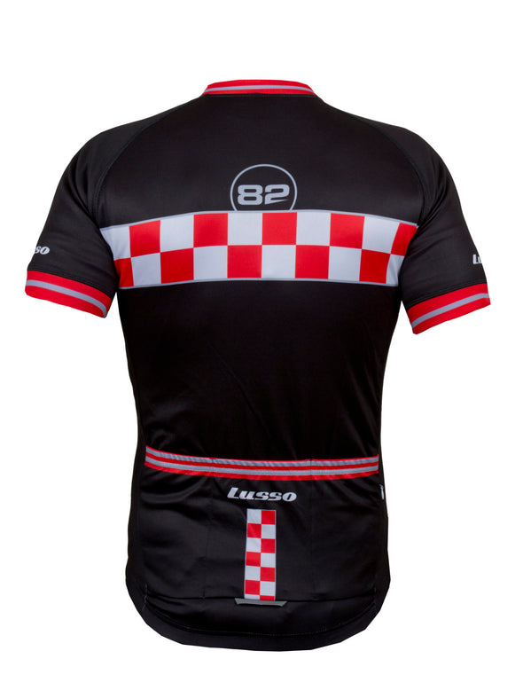 Evolve S/S Jersey Black - Lusso Cycle Wear