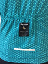 Momentum S/S Jersey Teal - womens - Lusso Cycle Wear