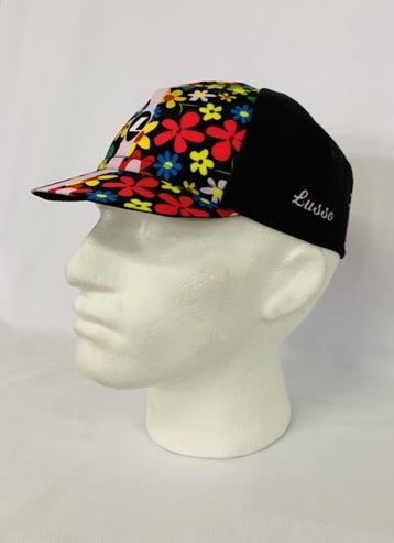 Women summer Cap Flowers - Lusso Cycle Wear