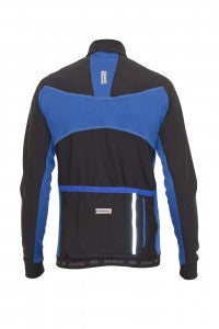 Stealth Thermal Jersey - Blue - Lusso Cycle Wear