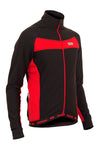 Stealth Thermal Jersey - Red - Lusso Cycle Wear