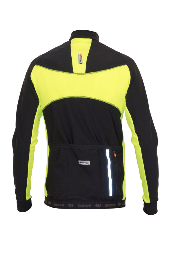Stealth Thermal Jersey -Yellow - Lusso Cycle Wear