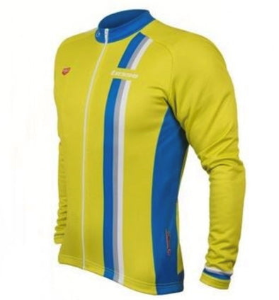 Trofeo L/S Jersey Lime - Lusso Cycle Wear