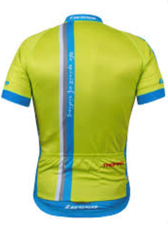 Trofeo S/S Jersey Lime - Lusso Cycle Wear
