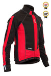 Windtex Aero+ Thermal Jacket Red - Lusso Cycle Wear