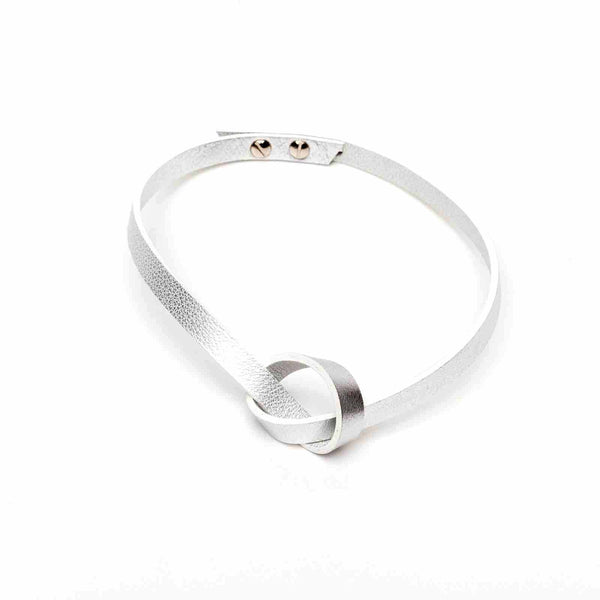 LOW mini silver choker