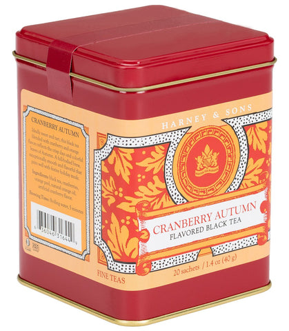 Cranberry Autumn, Harney and Sons Tea