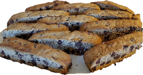 Biscotti, Mobjack Espresso and Chocolate Chip