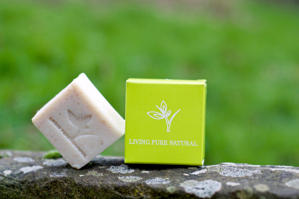 Living Pure Natural Body Soap with Lemon - Living Pure Natural
