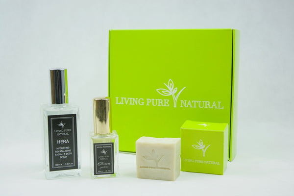 Natural beauty gift sets - Living Pure Natural