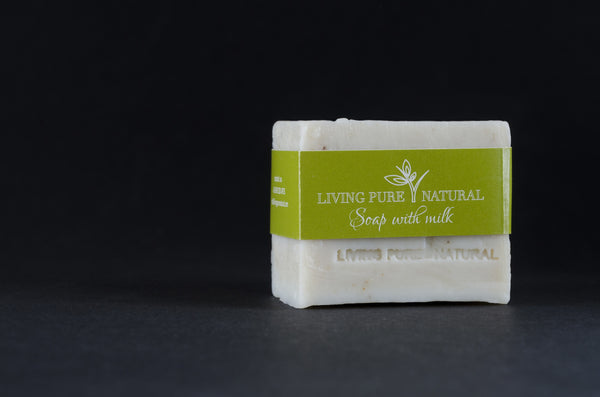 Living Pure Natural Body Soap with Milk - Living Pure Natural
