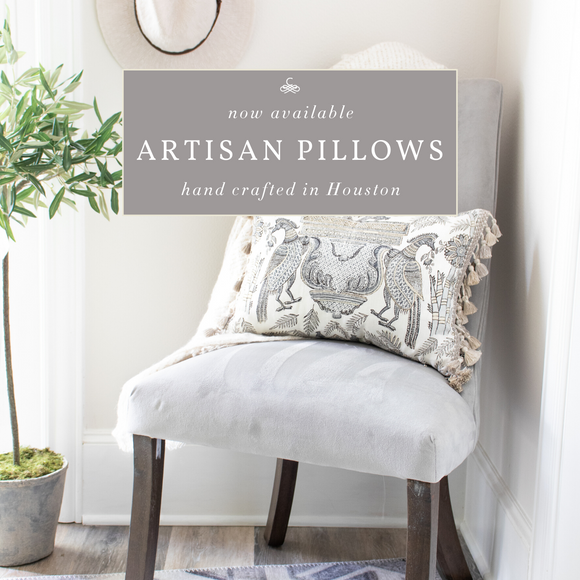Introducing our Artisan Pillows Collection