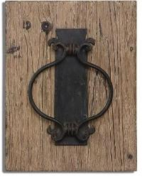 Metal door knocker