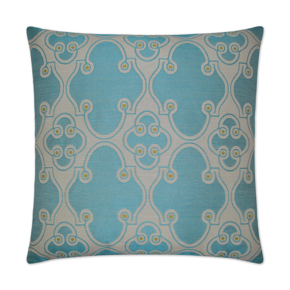 Aqua Jewelry Pillow 20x20
