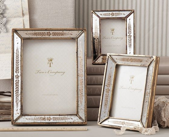 Gold Leaf Photo Frame set of 3