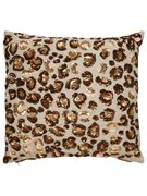 Beaded Cheetah Pillow 16x16 by Kate Spade