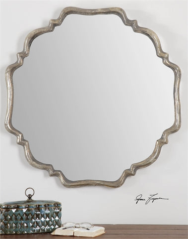 Quatrefoil Shaped Mirror