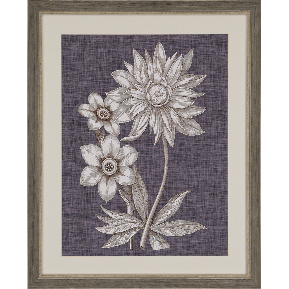 Matted Floral Art