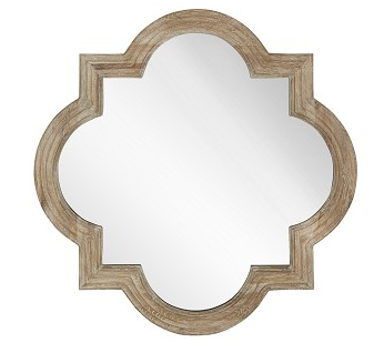 Natural White Wash Finish Mirror
