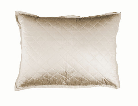 Chloe Washed Luxury Sham Ivory