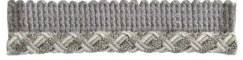 Grey and Shinny Silver Sm Lipcord
