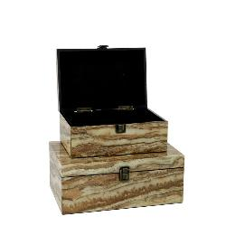 Jupiter Wood Storage Box