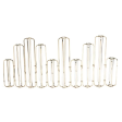 10 pc Hinged Vases