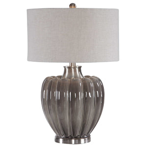 Smoky Gray Glaze Lamp