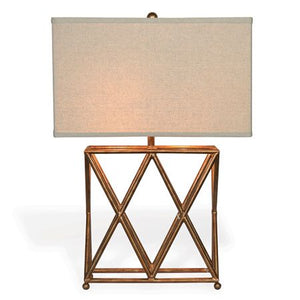 Gold Crossings Table Lamp