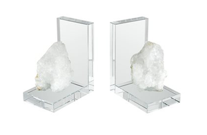 Natural Rock Bookends