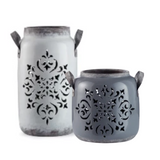 Filigree Lanterns Pair (Set of 2)
