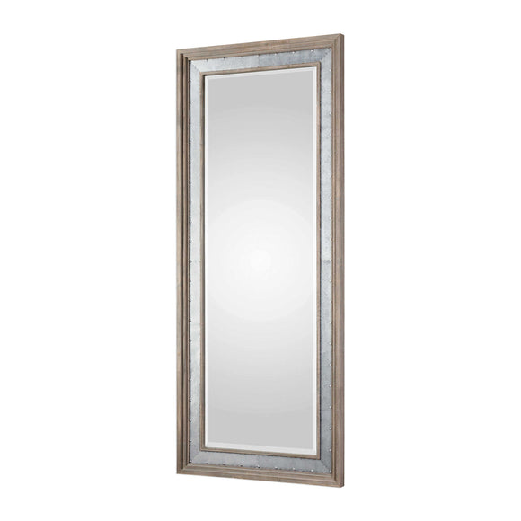 Beveled Rustic Mirror