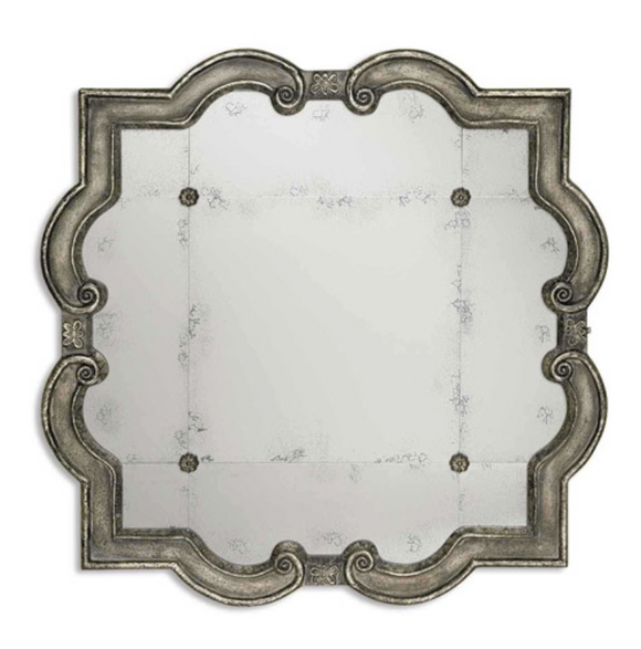 Quatrefoil Statement Mirror