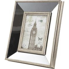 Mirror & Boarded Photo Frame
