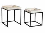 Watertree Tray Nesting Tables (set of 2)