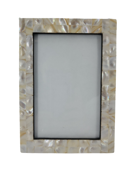 Mother of Pearl Tiles Photo Frame Assorted 3 Colors