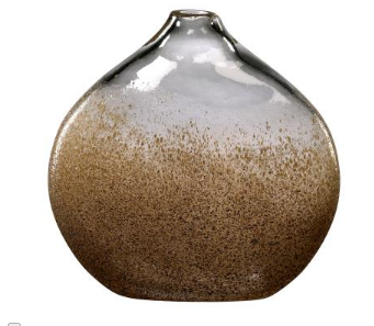 Light Brown Dusted Vase