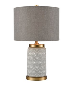 Gray Delicate Table Lamp