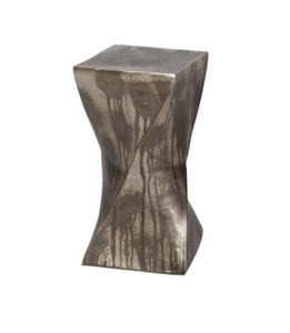 Twisted Hourglass Accent Table