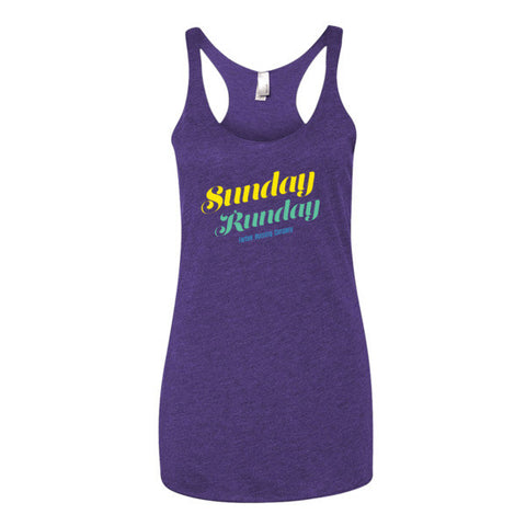 "Women's ""Sunday Runday"" tank top"