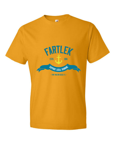 "Fartlek ""Support Local Running"" Short sleeve t-shirt"
