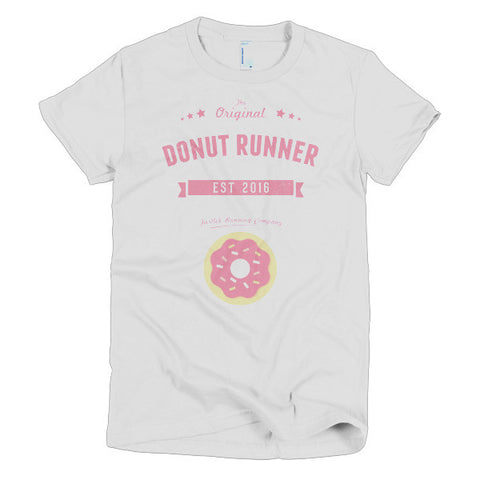"Short sleeve ""Donut Runner"" women's t-shirt"
