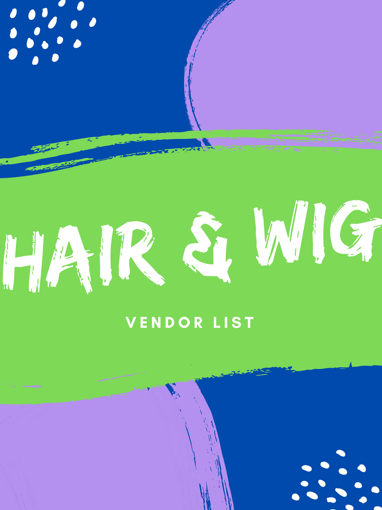 Hair & Wig Vendor List